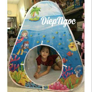 (CÓ SẴN- RẺ VÔ ĐỊCH)Lều gấp gọn đại dương cho bé
