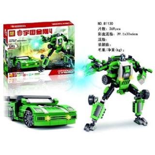 Lego ROBOT tranformation (lr 2 kiểu)