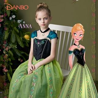 đầm công chúa Công Chúa Anna Cho Bé Gái