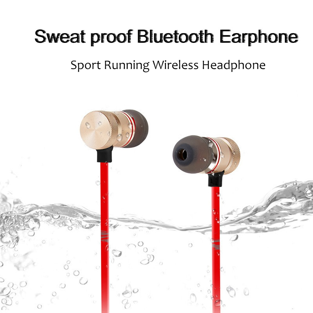 Tai Nghe Bluetooth Thể Thao Nam Châm Cho Iphone Xiaomi