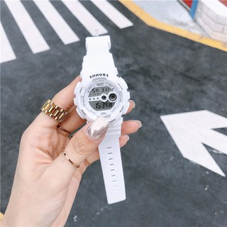 [Mã FASHIONRNK giảm 10K đơn 50K] Đồng hồ thể thao nữ SHHORS dây cao su ms02 size nhỏ xinh thumbnail