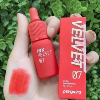 Son Peripera Ink Velvet Lip Tint 2019 - Son siêu cute siêu hot Hàn Quốc