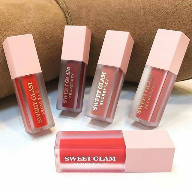 Son Kem Lì Secret Key Sweet Glam Velvet Tint