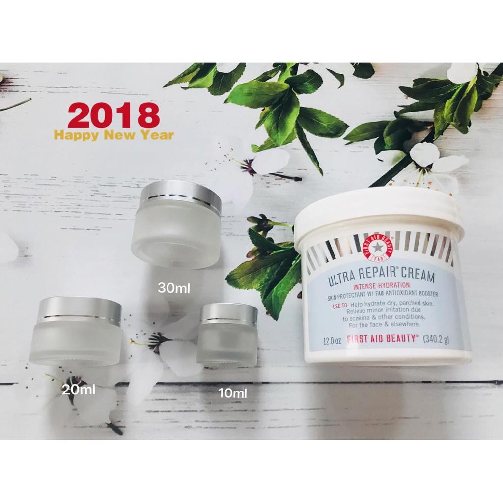 (Chiết 10/20/30/50ml giá rẻ) Kem dưỡng ẩm phục hồi da First Aid Beauty Ultra Repair Cream Intense Hy