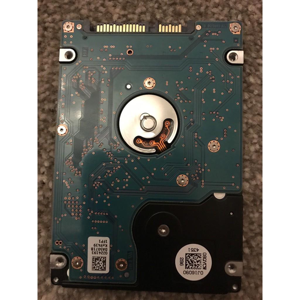 Ổ Cứng HDD Laptop HGST 500GB Mỏng 5400RPM BH 06 Tháng