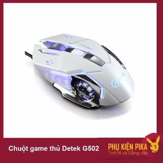 [Có video] Chuột game thủ Detek G502 Q5 có đèn led thumbnail