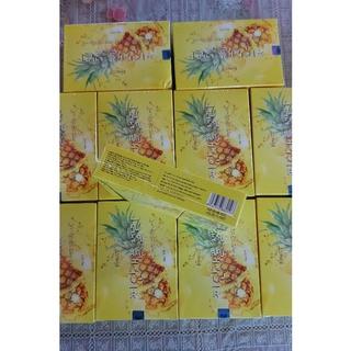 Thạch dứa Hàn Quốc Matxicorp hộp 10 gói