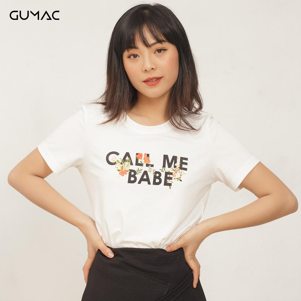 Áo Call Me Babe GUMAC ATA429
