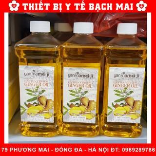 Tinh Dầu Gừng Massage Giảm Béo Cho Spa [Chai 500ml] thumbnail