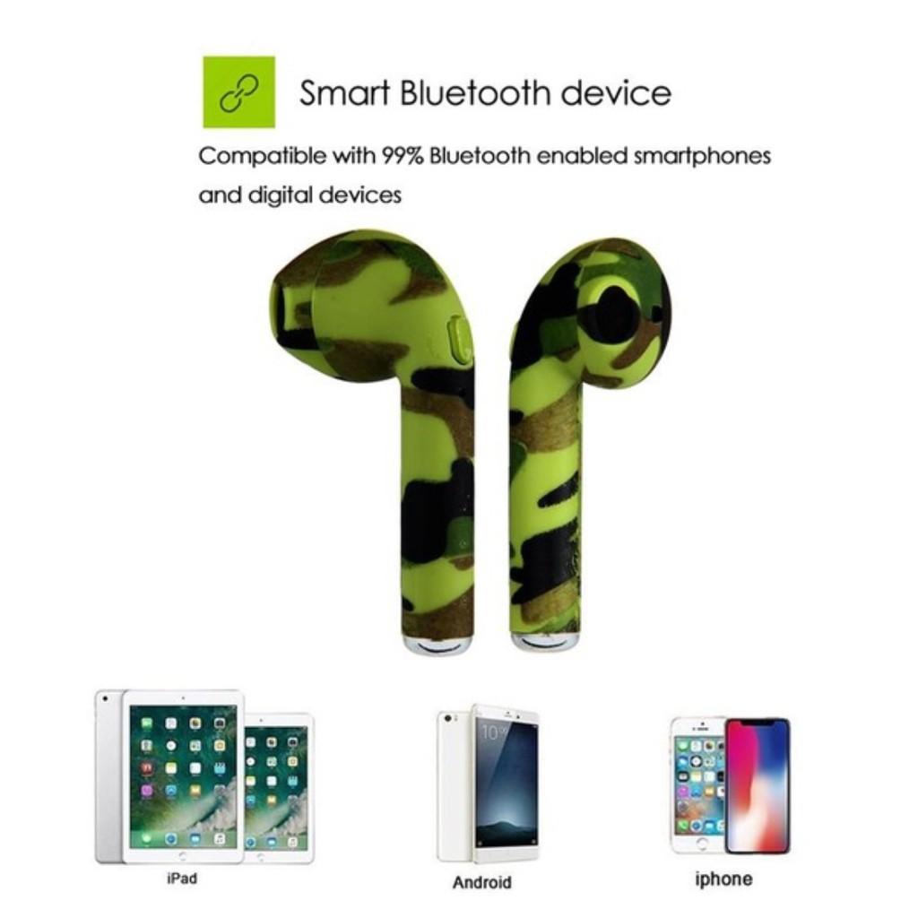 Tai nghe không dây I7s TWS kết nối Bluetooth chất lượng cao