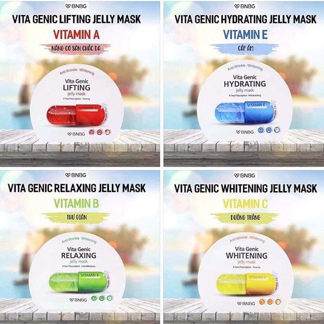 Mặt Nạ Dưỡng Da BNBG Vita Genic Jelly Mask 30ml | Shopee Việt Nam