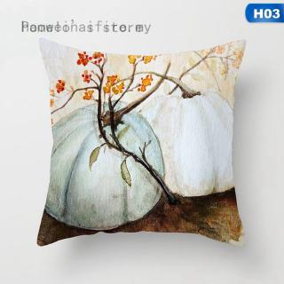 Áo gối trang trí sofa họa tiết bí ngô halloween độc đáo thumbnail