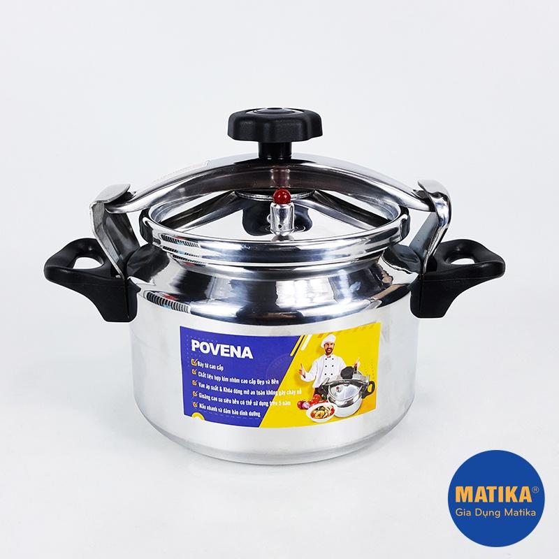 Nồi áp suất đa năng 🎯POVENA🎯 chính hãng dung tích 5 lít chất liệu cao cấp đáy từ tiện lợi PVN-5255