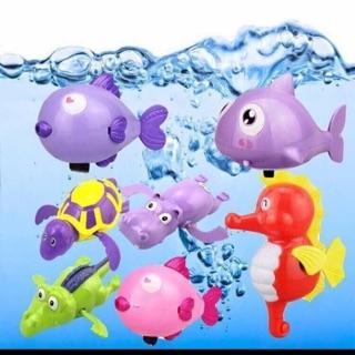 Đồ chơi tắm bé thú biết bơi combo3