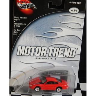 Xe mô hình 1:64 Hot Wheels 100% Motor Trend – Jaguar XKR