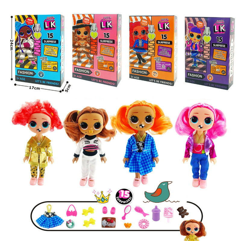 1PCS LoL Surprise Doll OMG Action Figure Model Toy Mini Fashion Doll for Girl Children Gifts Blind Box Doll