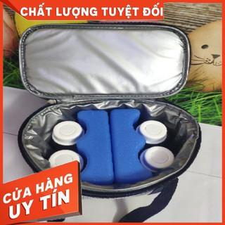 HÀNG CAO CẤP – [NEW2021] Túi đá khô Nanashop bảo quản giữ nhiệt sữa mẹ Made in Việt Nam công nghệ Mỹ siêu bền giữ lạnh