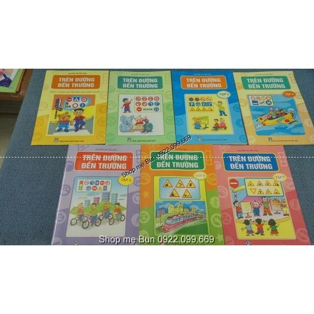 Trên đường đến trường ( trọn bộ 7 cuốn) bé học luật an toàn giao thông - 2611329 , 116999831 , 322_116999831 , 70000 , Tren-duong-den-truong-tron-bo-7-cuon-be-hoc-luat-an-toan-giao-thong-322_116999831 , shopee.vn , Trên đường đến trường ( trọn bộ 7 cuốn) bé học luật an toàn giao thông
