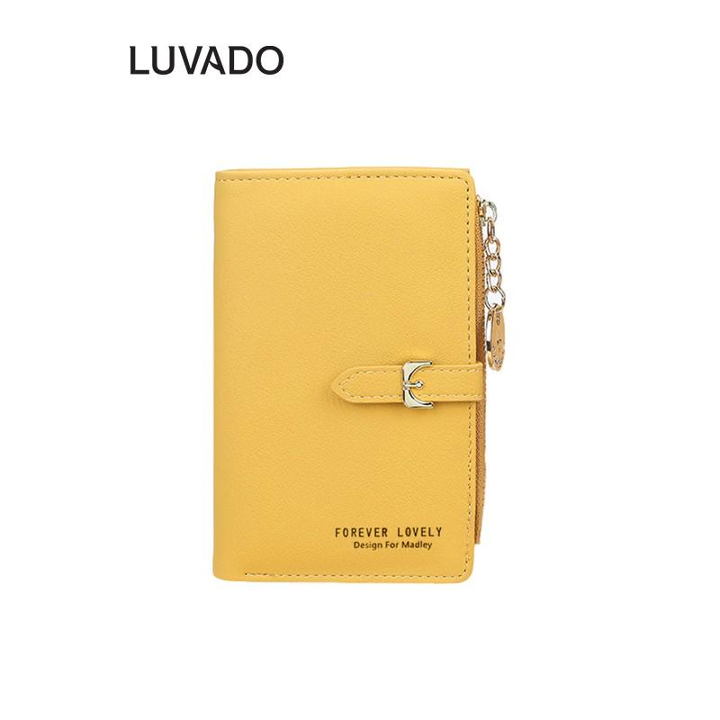 Ví nữ đẹp cầm tay mini cao cấp MADLEY nhỏ gọn bỏ túi LUVADO VD254