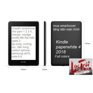 [Kindle PapaperWhite 4] Smart cover dành riêng cho paperwhite 4 – full color
