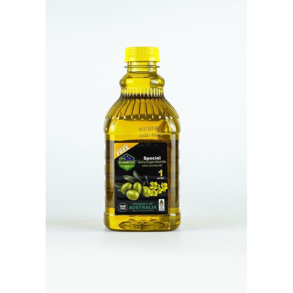 KANKOO - Dầu ăn Olive hạt cải Úc 1 Lít