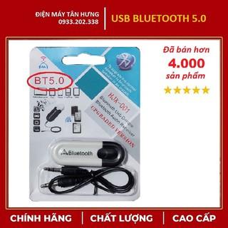 [LOẠI 1] USB Bluetooth DONGLE 5.0 & 4.0 HJX 001 loại 1 không nhiễu - dùng cho loa, amply, mixer, equalizer thumbnail