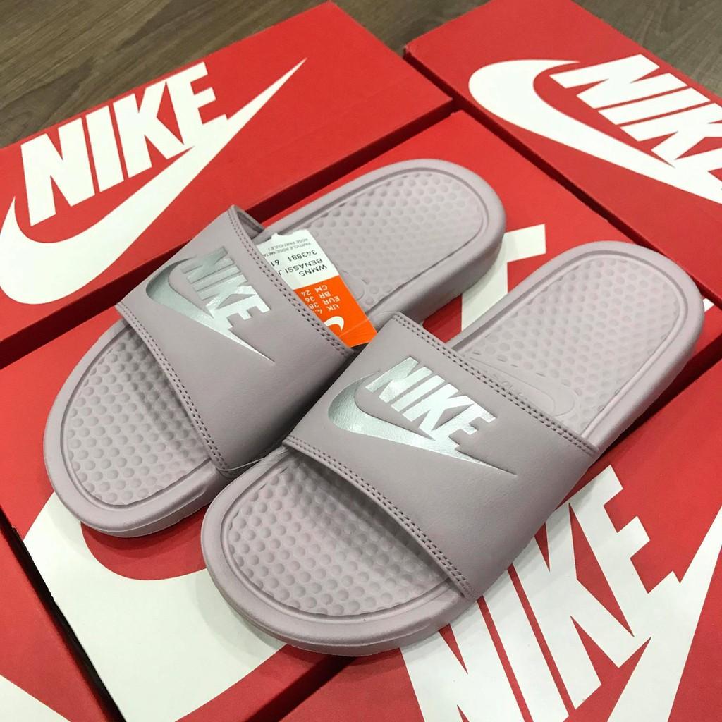 new arrival 61038 5a491 Hàng Chính Hãng Dép Nike Benassi Nude 2018   Shopee Việt Nam
