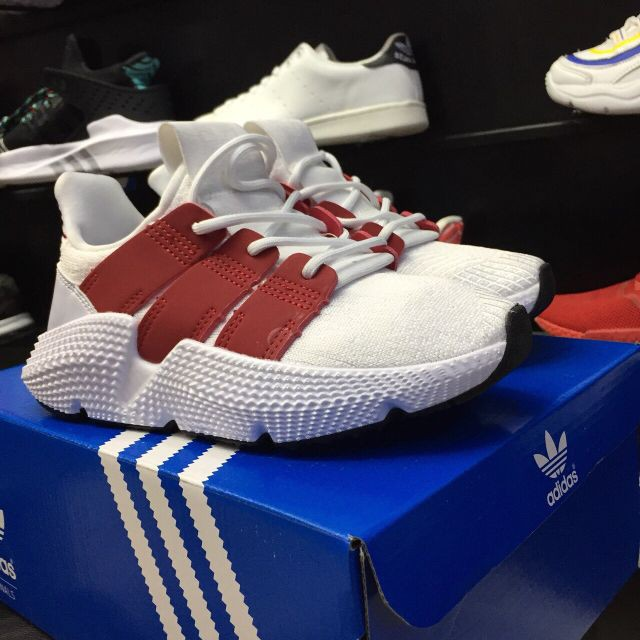 [Hàng đẹp + New] Giày Thể Thao prophere trắng pha đỏ mới nhất - Freeship từ 150k