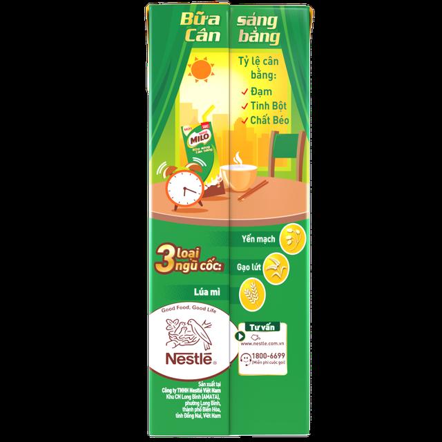 Hình ảnh Thùng 30 hộp sữa ngũ cốc Nestle Milo 195ml-3