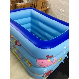 Bể bơi sâu lòng 4 tầng Kt 1m40 cho bé