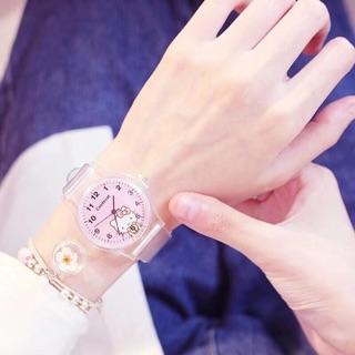 Đồng hồ candycat dây trong bé gái