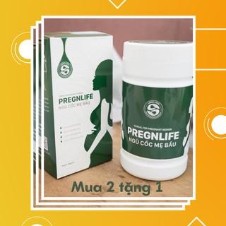 Combo ngũ cốc Long Liên Ngũ Cốc Mẹ Bầu Pregnlife Cao Cấp Siêu Dinh Dưỡng cho người mang thai giúp Mẹ khỏe Bé phát triển