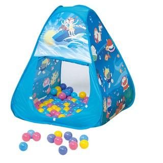 Lều bóng cao cấp hình tam giác nhập khẩu Đài Loan gồm: 1 lều + 100q bóng + 1 hộp đựng màu in hình sản phẩm