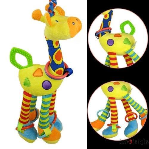 A.L-Baby Toys Fun Musical Stroller Toy soft toddler newborn Rattles Teether