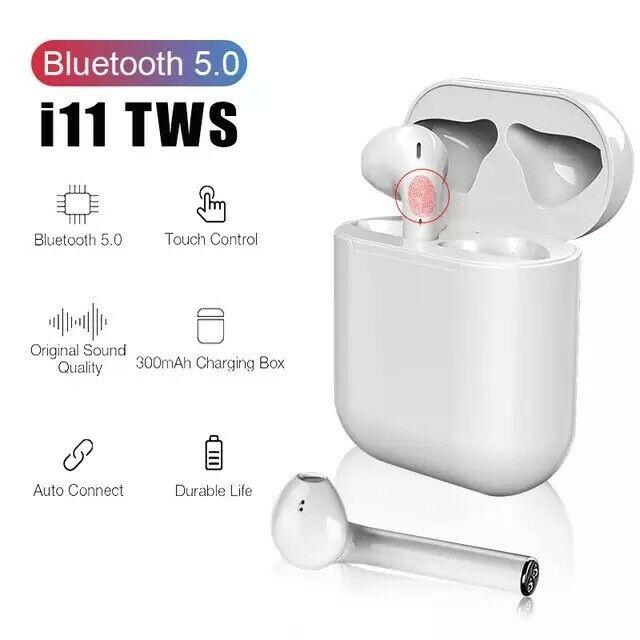 TAI NGHE CAO CẤP BLUETOOTH I11 TWS 5.0 NÚT CẢM ỨNG