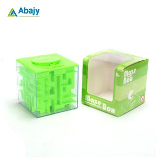 Maze puzzle piggy bank, small change cash box for kids, big gift for developing intelligence