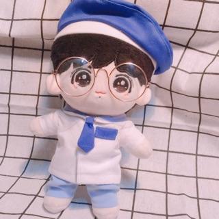 Outfit doll- bộ quần áo thuỷ thủ kèm mũ nồi