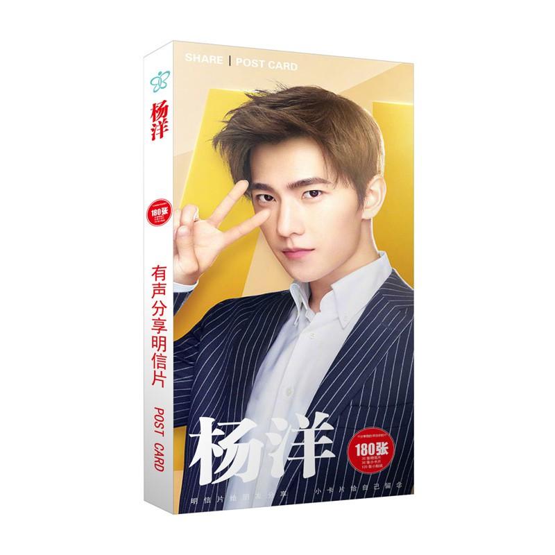 PostCard YANG YANG, WU YI TIAN,LEE JONG SUK,JOO