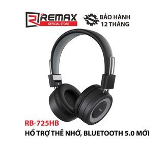 Tai nghe Bluetooth chụp tai Remax RB-725HB v5.0 hỗ trợ thẻ nhớ