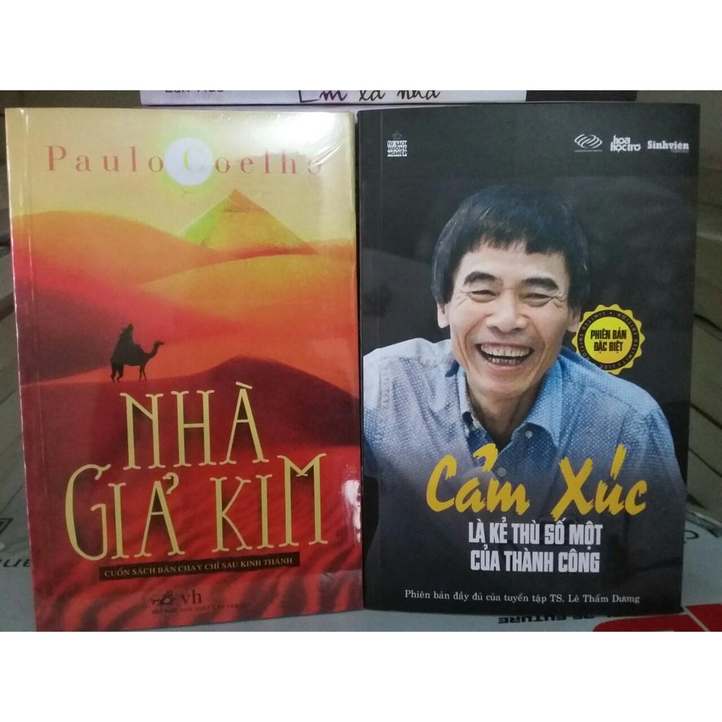 Combo 2 Cuốn: Nhà Giả Kim + Cảm Xúc Là Kẻ Thù