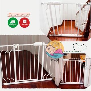 Thanh chắn cầu thang, thanh chặn cửa ra vào cho bé chính hãng Umoo không cần khoan đục an toàn cho bé thumbnail