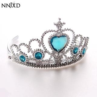 Vương miện NNJXD hóa trang công chúa Elsa Anna trang trí tóc cho bé gái thumbnail