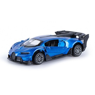 1:32 Bugatti RC Racing Toy Car Simulation Pull Back Alloy Metal Vehicles Toys Kid Gift