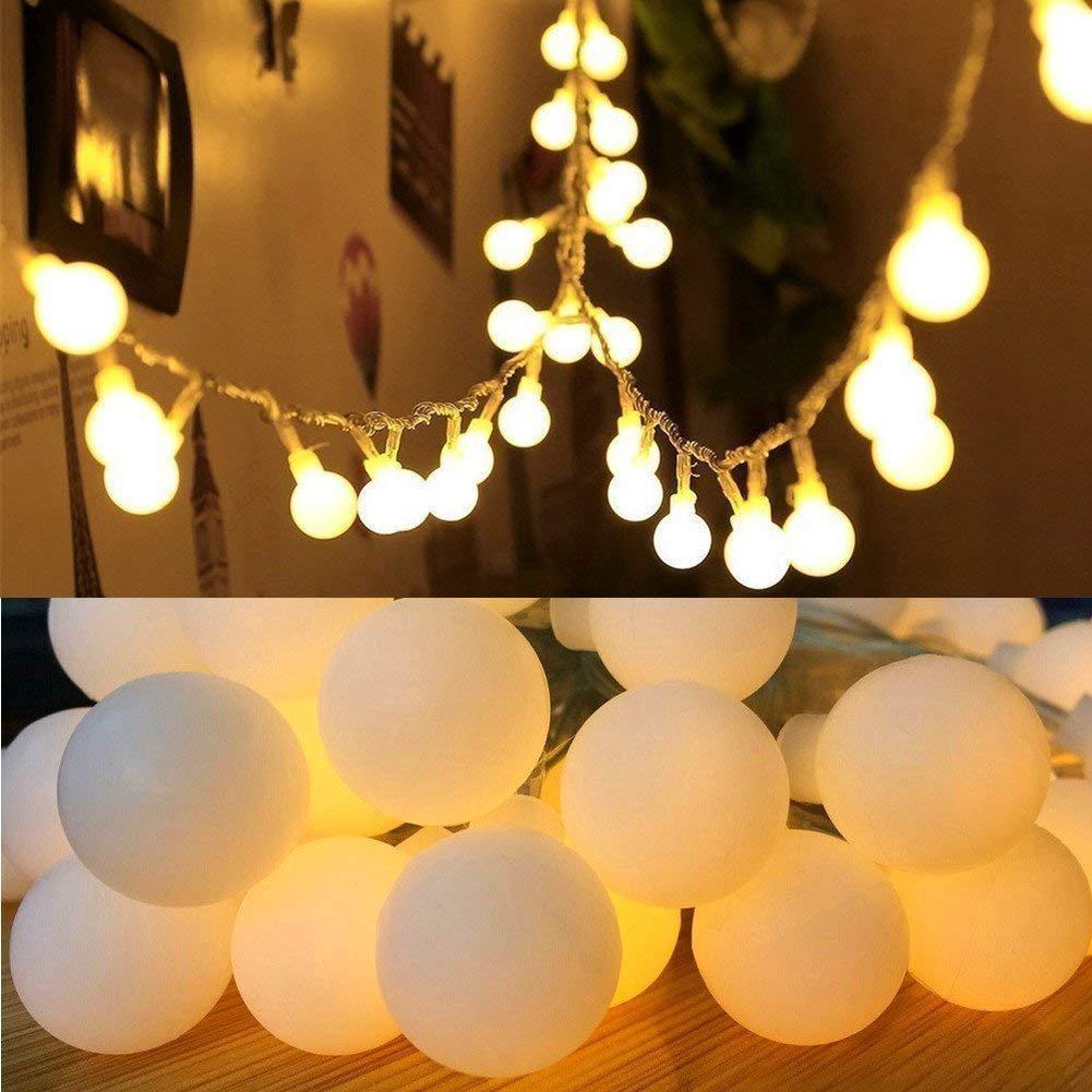Đèn LED dây chạy bằng pin dùng trang trí độc đáo
