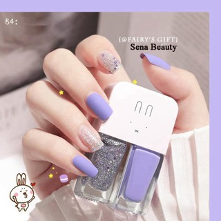 TA09 Full Set 2 Chai Sơn Móng Tay Nhũ + Lì Fairy's Gift 2*6ML TA09