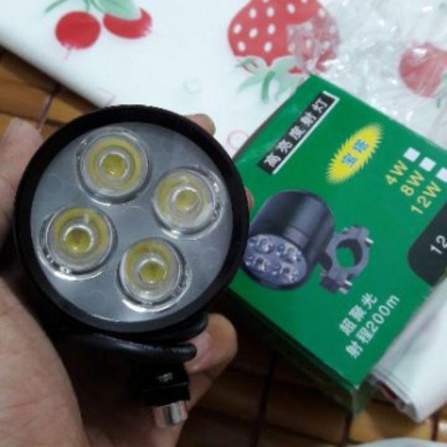 Đèn trợ sáng xe máy có 4 bóng led L4 - 2613603 , 699948191 , 322_699948191 , 175000 , Den-tro-sang-xe-may-co-4-bong-led-L4-322_699948191 , shopee.vn , Đèn trợ sáng xe máy có 4 bóng led L4