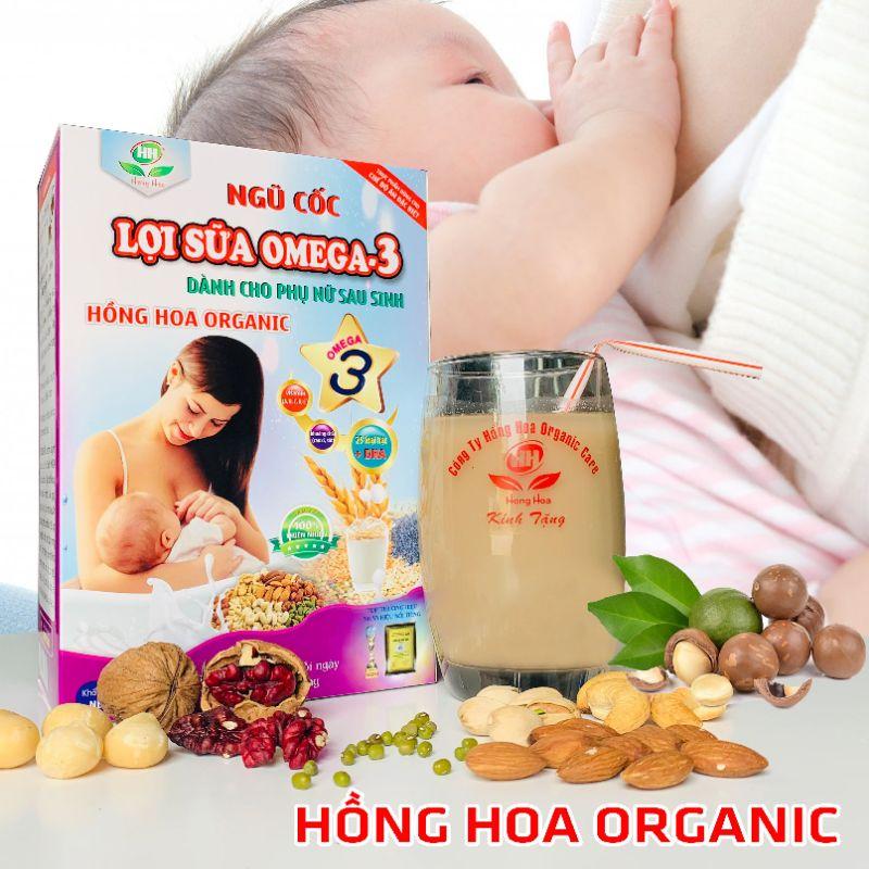 Ngũ cốc lợi sữa omega-3 ( Dành cho phụ nữ sau sinh) 1kg
