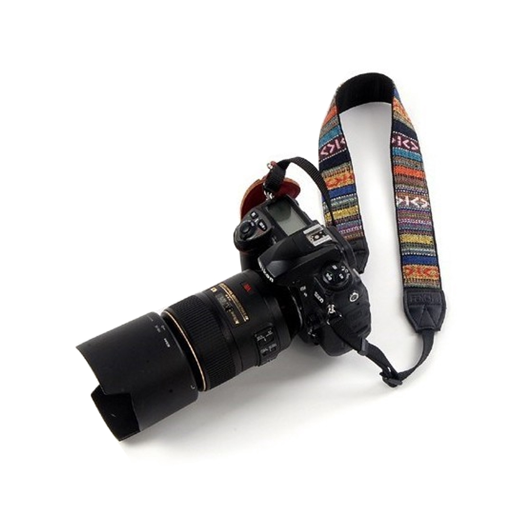 Soft Replacement Widened Carrying Ethnic Style Exquisite Vintage Fashion Adjustable Easy Apply Gift Camera Strap