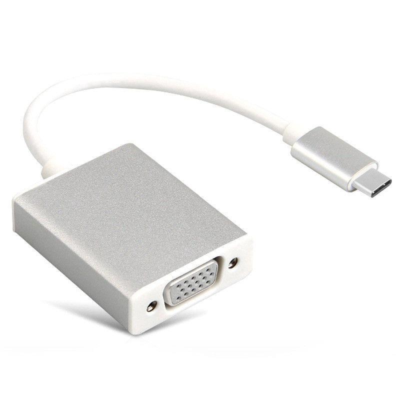 USB 3.1 Cổng USB đến Cáp VGA 1080P 15cm@ 60HZ NHÔM DC968 -dc968.