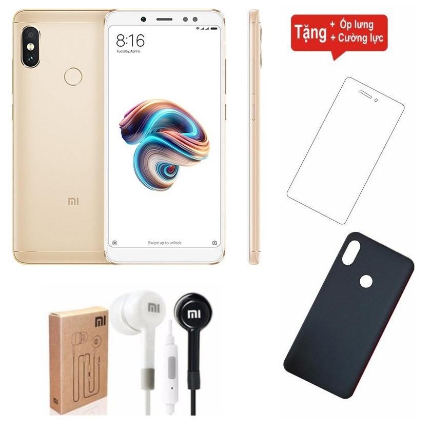 Combo Điện Thoại Xiaomi Redmi Note 5 Pro 64GB Ram 4GB + Cường lực + Ốp lưng + Tai nghe Xiaomi - 2894667 , 1031184203 , 322_1031184203 , 5380000 , Combo-Dien-Thoai-Xiaomi-Redmi-Note-5-Pro-64GB-Ram-4GB-Cuong-luc-Op-lung-Tai-nghe-Xiaomi-322_1031184203 , shopee.vn , Combo Điện Thoại Xiaomi Redmi Note 5 Pro 64GB Ram 4GB + Cường lực + Ốp lưng + Tai n